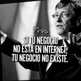 Si tu negocio no está en internet tu negocio no existe