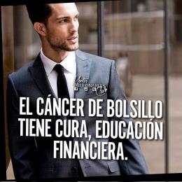 El cáncer de bolsillo tiene cura, educación financiera
