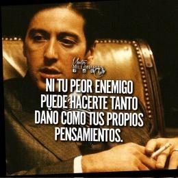 Ni tu peor enemigo puede hacer tanto daño como tus propios pensamientos