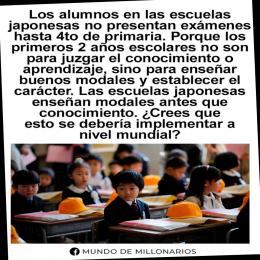 La educación en japón