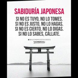 Sabiduría Japonesa