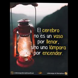 El cerebro no es un vaso por llenar, sino una lámpara por encender copia