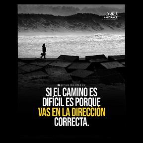 Si el camino es difícil es porque vas en la dirección con poca competencia