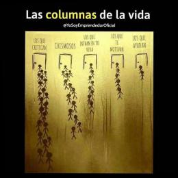 Las columnas de la vida